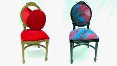 DIY galaxy chair!!!