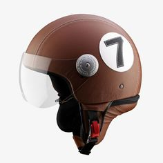 No. 7 Leather Helmet by Andrea Cardone