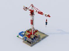 Town Construction-4 LEGO IDEAS PROJECT.   ideas.lego.com/pro…   Flickr
