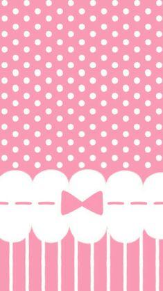 Polka-dots + Bows and ribbons + The color pink = every girly girl's dreams.