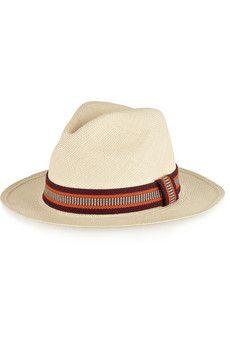 Sensi Studio Toquilla straw Panama hat   NET-A-PORTER as seen on Luella and June