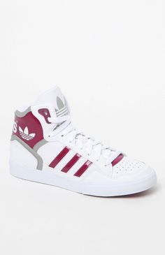Extaball White High-Top Sneakers
