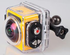 Kodak Pixpro Action Camera This gadget here shoots in several different modes including 360° panorama mode
