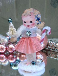 Pink Christmas Doll