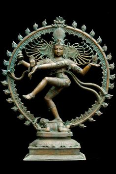 "Enchanting Bronze Nataraja Statue 45"""