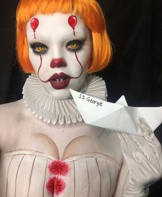 @venomtoyaveins  #clown #makeup #custome  Halloween