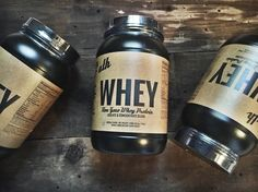 The bare essentials. No additives not artificial ingredients just #nongmo #whey sourced from rBGH free cow milk.