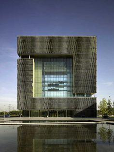 The Thyssenkrupp headquarters in Essen Germany. http://www.e-architect.co.uk/cologne/thyssenkrupp_quarter_essen.htm