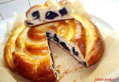Pünkösdi almás-mákos csigakalács Pancakes, French Toast, Breakfast, Food, Morning Coffee, Essen, Pancake, Meals, Yemek