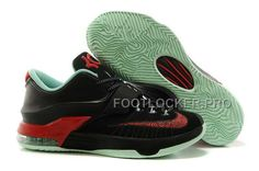 885456822a0 Brand Nike Kevin Durant KD 7 Bad Apple Mens Black Medium Mint and Action Red