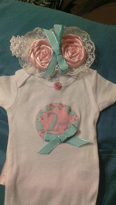 Two month onesie set
