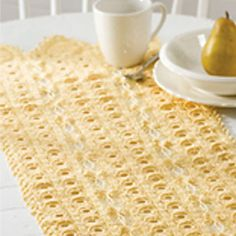 Sunshine Delight Table Runner by Cora Rattle  free
