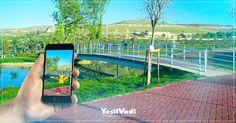 Pokemon Go oyun alanı için Yeşilvadi'den daha büyük bir yer düşünemiyoruz :) #Gaziantep #Yesilvadi #PokemonGo