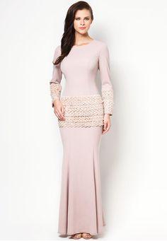 Chantilly Camelia Dress BUY JOVIAN MANDAGIE FOR ZALORA TRADITIONAL WEAR FOR WOMEN
