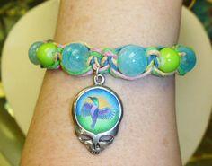 Steal Your Hummingbird Grateful Dead Stealie by sherrishempdesigns, $11.99