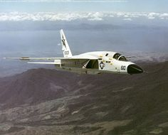 """flytofight: """"North American Vigilante Originally designed to be a low level nuke dropper for the U.S Navy, the Vigilante was repurposed as a photo recon platform and saw extensive use with the redesignation of """" Us Navy Aircraft, Us Military Aircraft, Military Jets, Fighter Aircraft, Fighter Jets, F4 Phantom, Jet Plane, Aviation Art, Aircraft Carrier"""