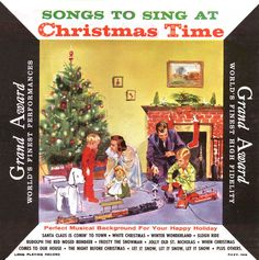 Christmas Comes To Our House 1957 FULL ALBUM Various ENOCH LIGHT, ARTIE ...