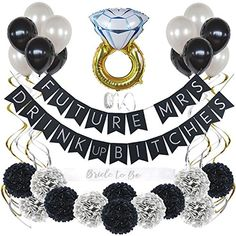 Bachelorette Party Decorations Kit Bridal Shower Supplies with Bride to Be Sash Banners Balloons and Flowers 35 Pc Set * Learn more by visiting the image link. (This is an affiliate link) Bride To Be Decorations, Bachelorette Party Planning, Wedding Shower Decorations, Bachelorette Party Decorations, Bachelorette Party Favors, Bridal Shower Banners, Vegas Bachelorette, Bride To Be Sash, Balloons