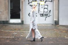The grey dress | The Fancy Lifestyle