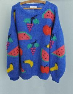 Amazing fruit sweater