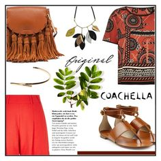 """Coachella"" by misskarolina ❤ liked on Polyvore featuring River Island, Michael Kors, Marni, Chloé, Maison Margiela, coachella and polyvoreeditorial"