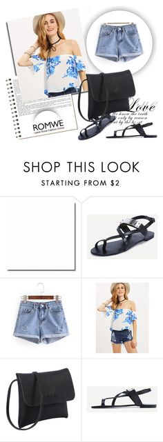 """""""ROMWE 7/4"""" by melissa995 ❤ liked on Polyvore featuring Koo"""