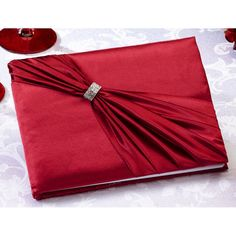 Satin Sash Guest Book