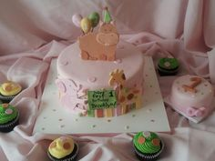Girly FIrst Birthday Safari - *