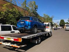 #Towing a total loss Toyota Rav 4 from Glaser smash repairs in #Mascot to Avis car rentals in #Mascot. For #car and #motorcycle #towing #services call #Eastern #Suburbs #Towing #Sydney on 0419466591.  We provide #emergency #towing #services for all leading #insurance #companies and the general #public. Check out our website @ www.easternsuburbstowingsydney.com.au