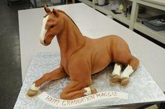 3-D Horse Cake