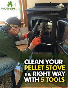 Stop Wasting Time with Poor Stove Cleaning! Stop Wasting Time with Poor Stove Cleaning! Rv Wood Stove, Wood Pellet Stoves, Pellet Fireplace, Fireplaces, Harman Pellet Stove, Camper Stove, Firewood Storage, Wood Pellets, Rocket Stoves