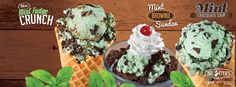 Bruster's Ice Cream is a chain of ice cream parlors whose ice cream and frozen yogurt is made from a milk-based mix at each individual store -- and was started just outside of Pittsburgh, PA.