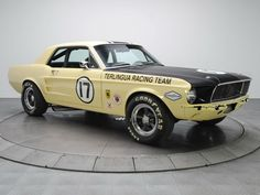 1967 Ford Mustang Coupe Race Car 65B racing muscle classic h wallpaper background