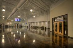 NewSpring Church Greenwood Campus - Greenwood, SC (designed by a partner at Equip Studio while at a previous firm).