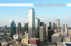 A Complete Dallas Moving Guide | this is actually really cool! #helpful