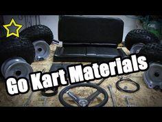 Go Kart Materials: How to Build a Go Kart: Frame Materials - YouTube