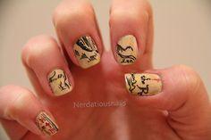 nerd nails   Tumblr