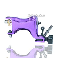 Alloy Purple Motor Rotary Tattoo Machine Gun For Liner Shader