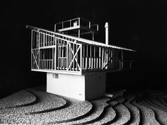 The mountain villa in Karuizawa|軽井沢の山荘 模型 吉村順三 Arch Architecture, Architecture Models, Mountain Villa, Karuizawa, Stage Set Design, Design Process, Concept, Cornwall, Building