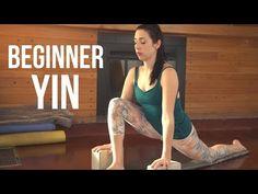Yin Yoga for Beginners - Full Body Stretch {35 min} - YouTube