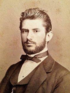 Handsome Vintage Men with Beards, via Hintmag.
