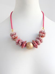 Fabric Necklace (More Colors) | A Well-Crafted Life