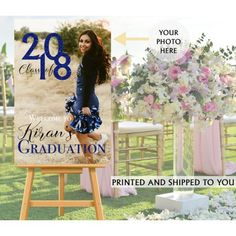 Class of 2018 Photo Welcome Sign - Welcome Sign