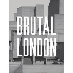 September Publishing Brutal London: This collection of unique and evocative photography of Brutalist architecture by Simon Phipps casts the city in a new light. Arranged by inner London Borough, BRUTAL LONDON takes in famous examples such as the Trellick Tower, the Brunswick Centre and the Alexandra Road Estate, as well as lesser known housing and municipal spaces. It serves as an introduction to buildings the reader may see every day, an invitation to look differently, a challenge to look…
