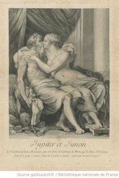 François-Bernard Lépicié su disegno di Giulio Romano, Giove e Giunone (1729). La descrizione completa: http://www.finestresullarte.info/operadelgiorno/2014/246-franois-bernard-lpici-su-disegno-di-giulio-romano-giove-e-giunone.php
