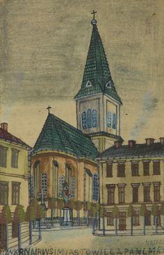 Nikifor Krynicki - Widok kościoła