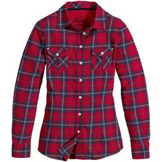 Musto Winter Plaid Shirt ❤ liked on Polyvore