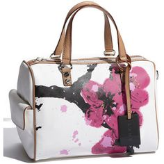 Currently Carrying L A M B Walderston Cherry Blossom Satchel Favorite Part Besides The Not