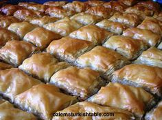 Home-made baklava; delicious and easier than you think!