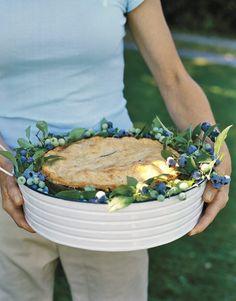 Blueberry-Fresh Decorating Ideas